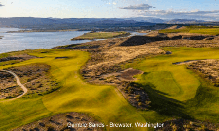 Gamble Sands in Brewster, Wash