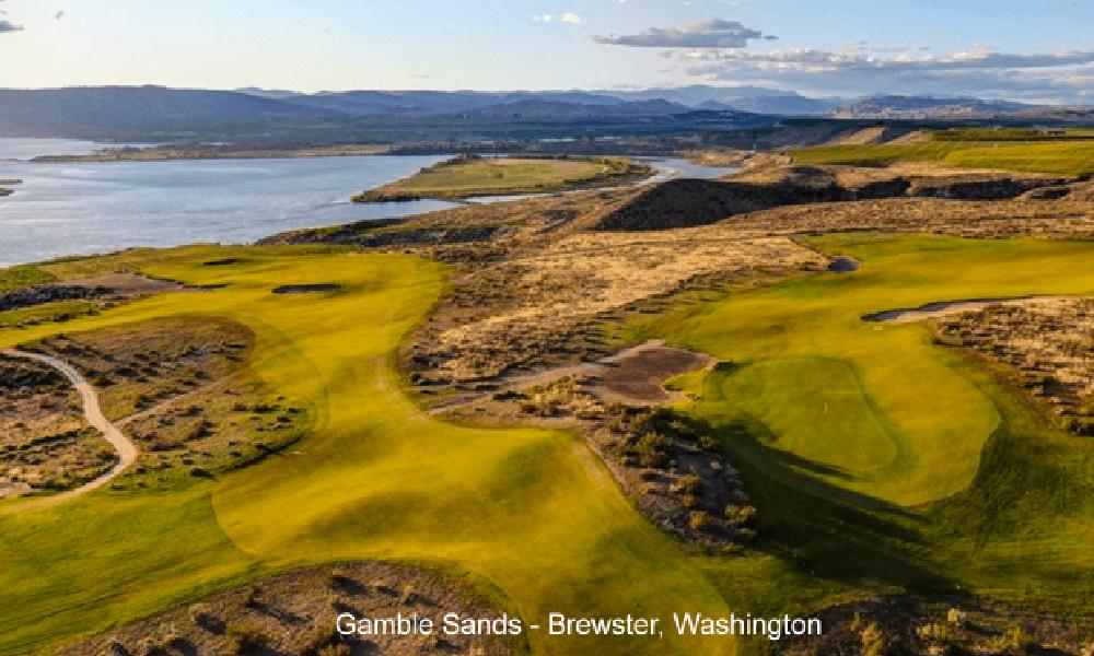 Gamble Sands in Brewster, Wash