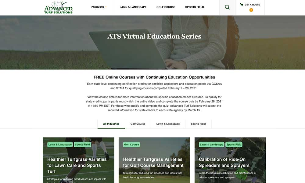 ATS Virtual Education Series