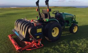 John Deere agreement Wiedenmann Corporation aeration