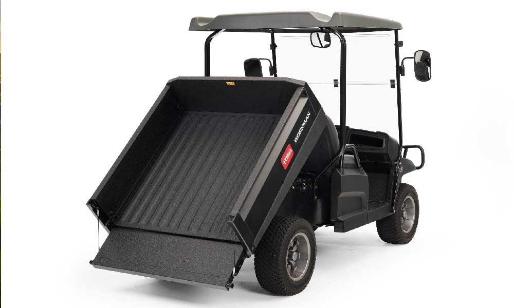New Steel Bed and GTX Lithium-Ion Lifted Model Expand Toro® Workman® Line