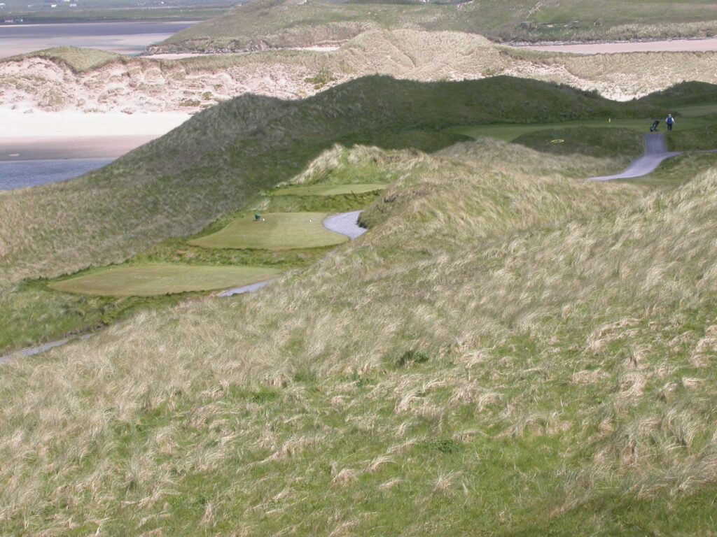 Tralee Golf Club's Back Nine (Photo by Jeff Shelley)