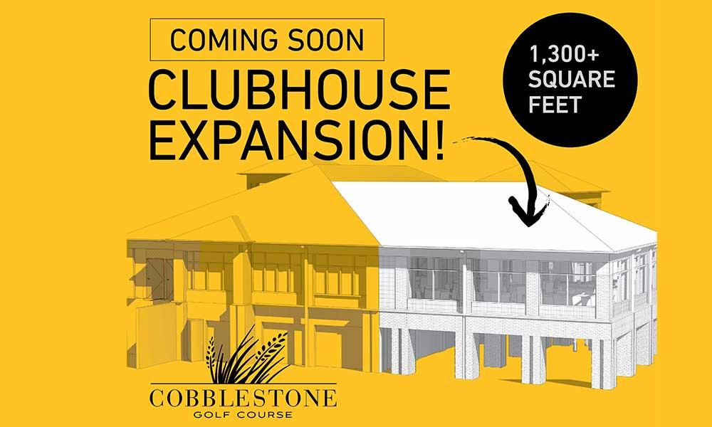 Cobblestone Golf Course clubhouse expansion