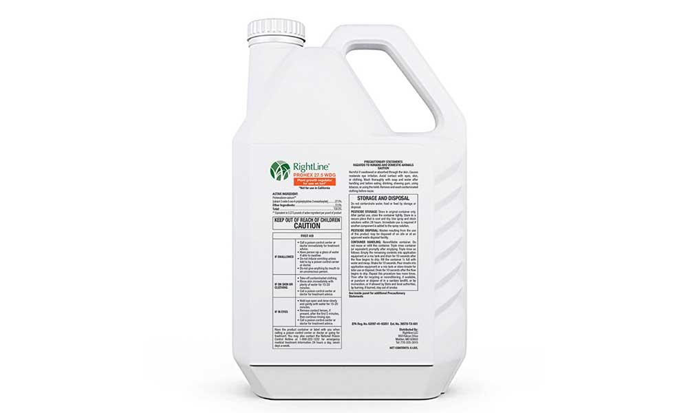 RightLine PROHEX 27.5 WDG Plant Growth Regulator