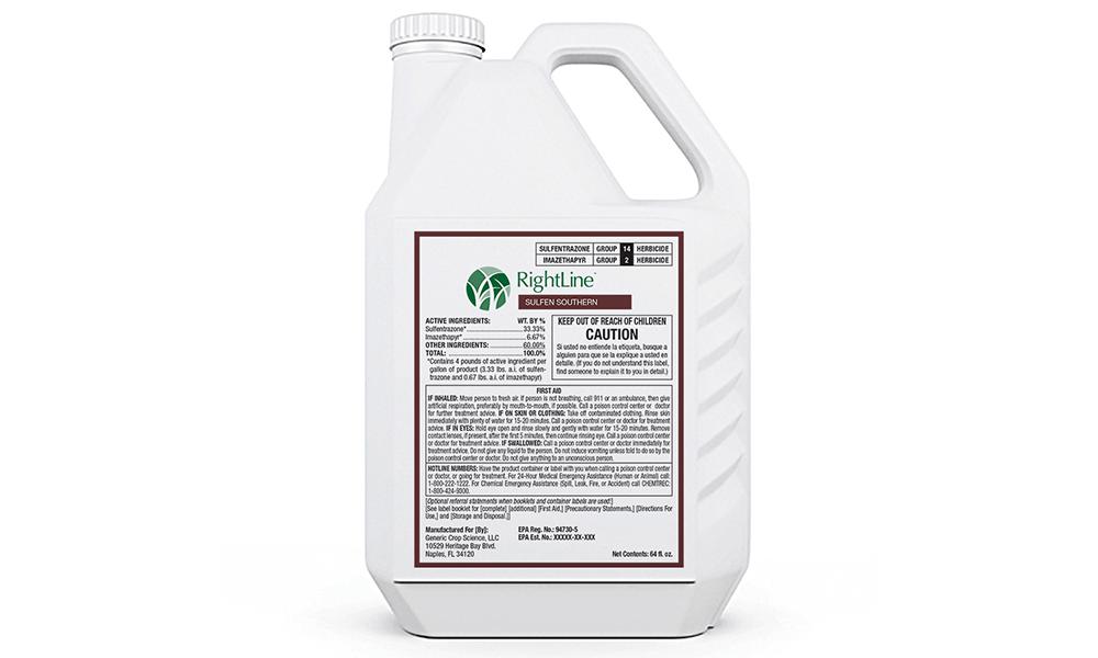RightLine SULFEN SOUTHERN herbicide