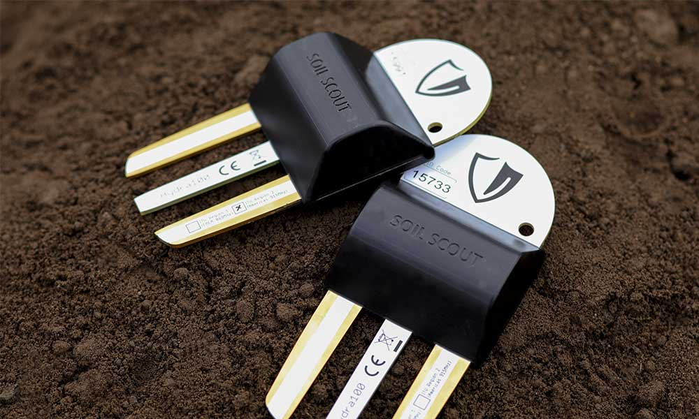 Buried Soil Scout sensors gather critical underground information while drone-mounted GreenSight Turfsight technology visually analyses the course from the air.