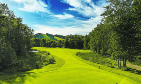 Crystal Mountain Resort and Spa is in the process of renovating its Betsie Valley course. Brian Walters