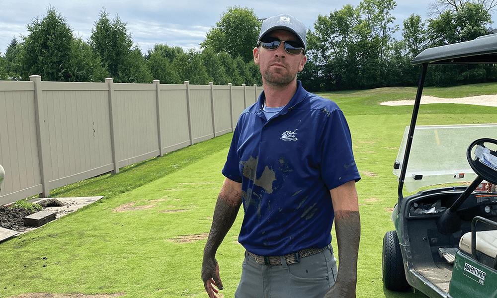 Golf Course Superintendent Matt Cavanaugh Rush Creek Golf Club
