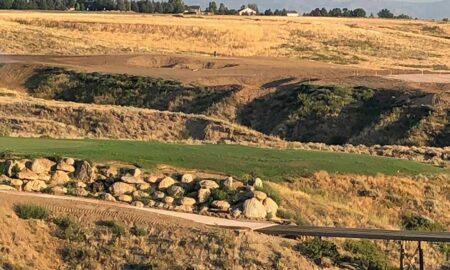 RainDance National Golf Course using Capillary Bunkers lining technology