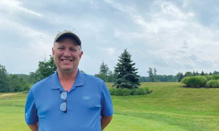 Golf Course Superintendent John Namicu of Little Mountain Country Club