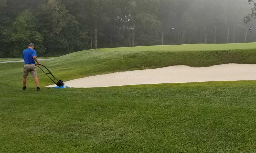 Maintenance friendly edges are key to the design of Better Billy Bunkers