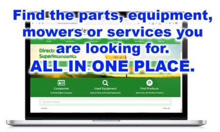 Golf Course Trades Online Directory for Superintendents