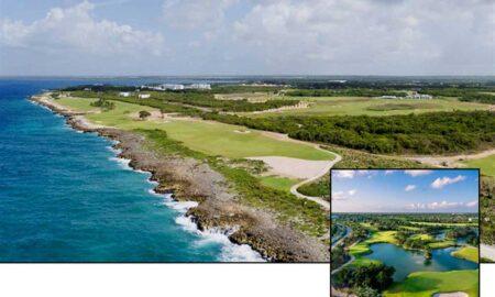 PGA Oceans 4 Golf Club and PGA Riviera Maya Golf Club (inset)