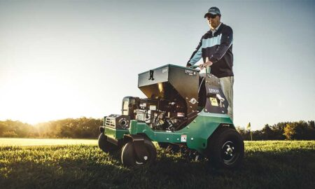 Exclusive LESCO ride-on spreaders and sprayers