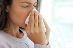 Woman With Common Cold