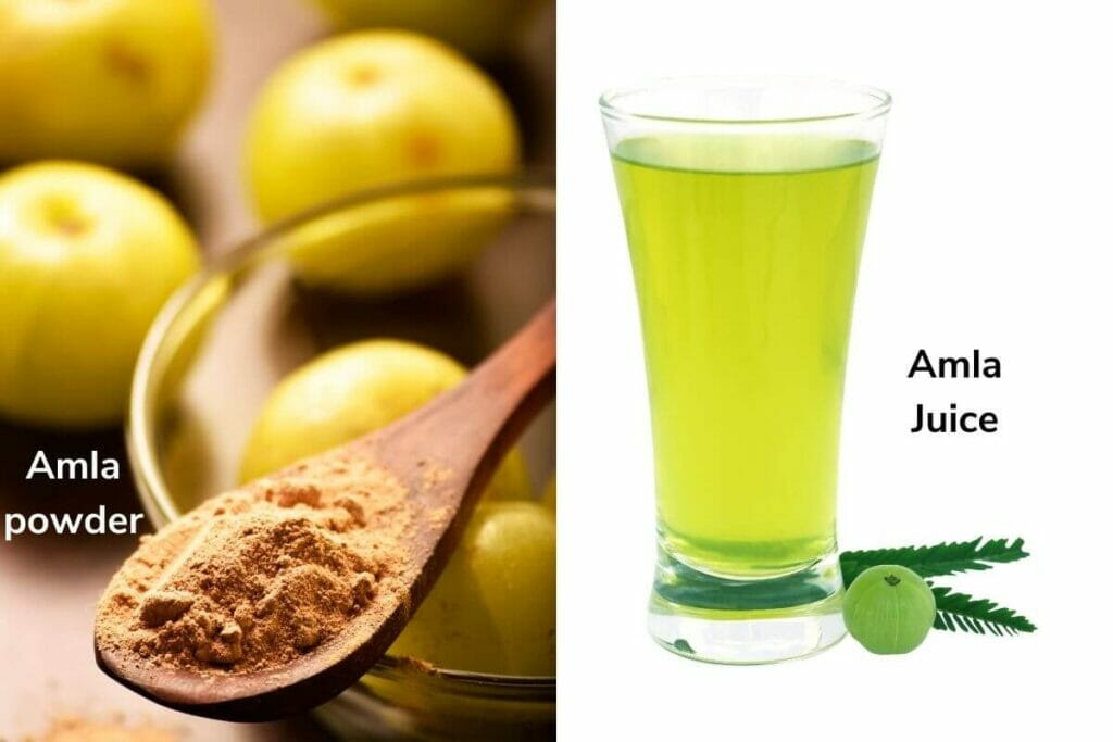 Amla powder & amla juice- home remedies to treat common health problems