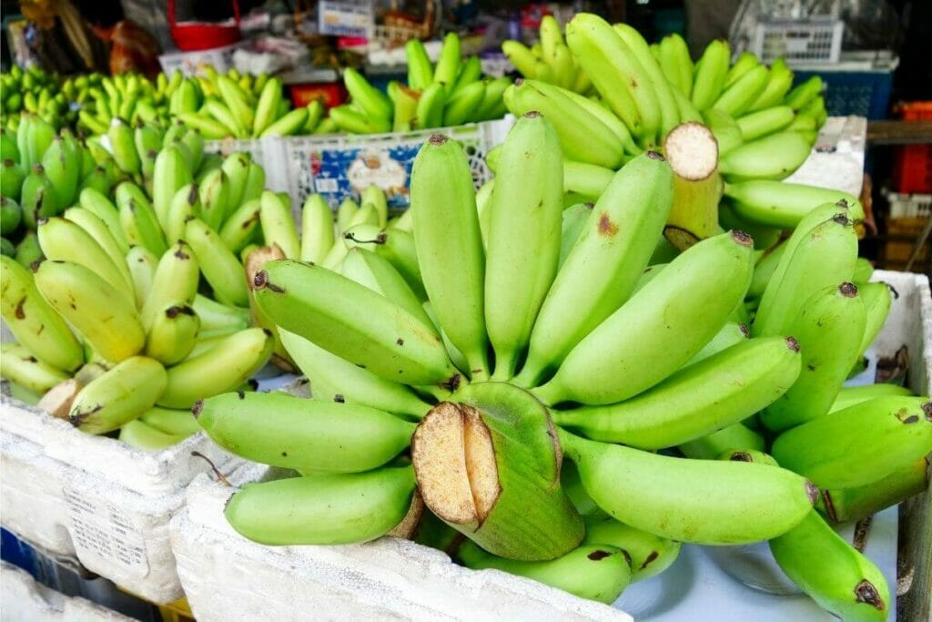 Image of raw banana