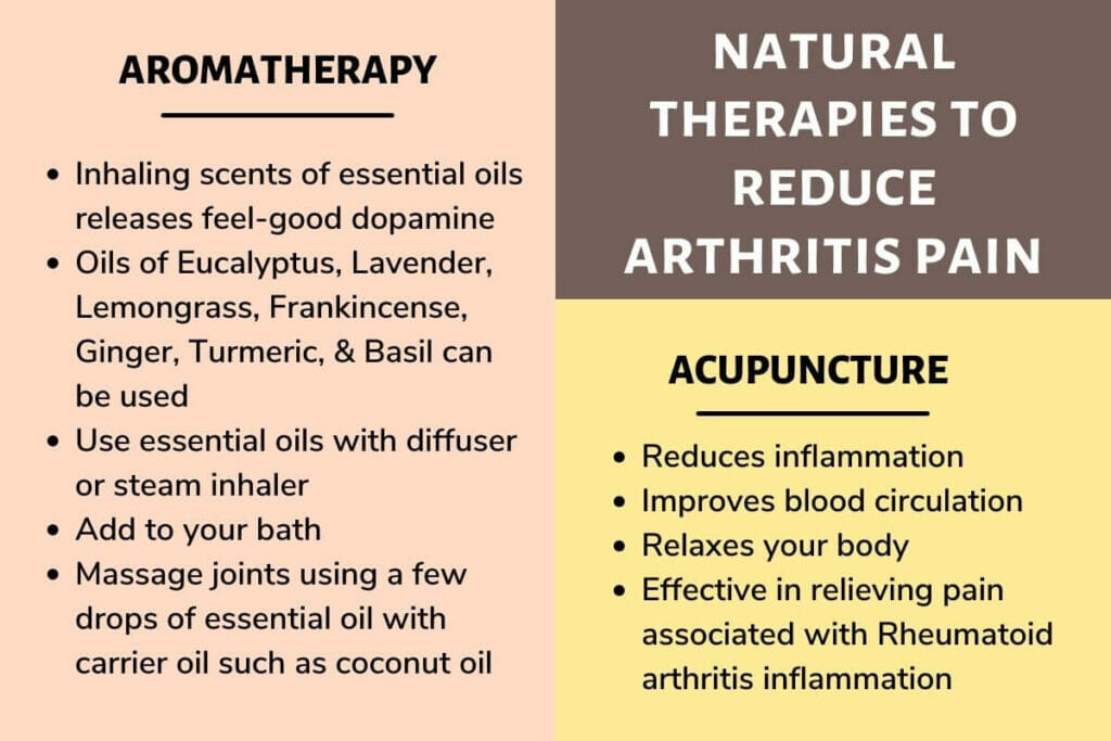 Natural therapies to relieve arthritis pain