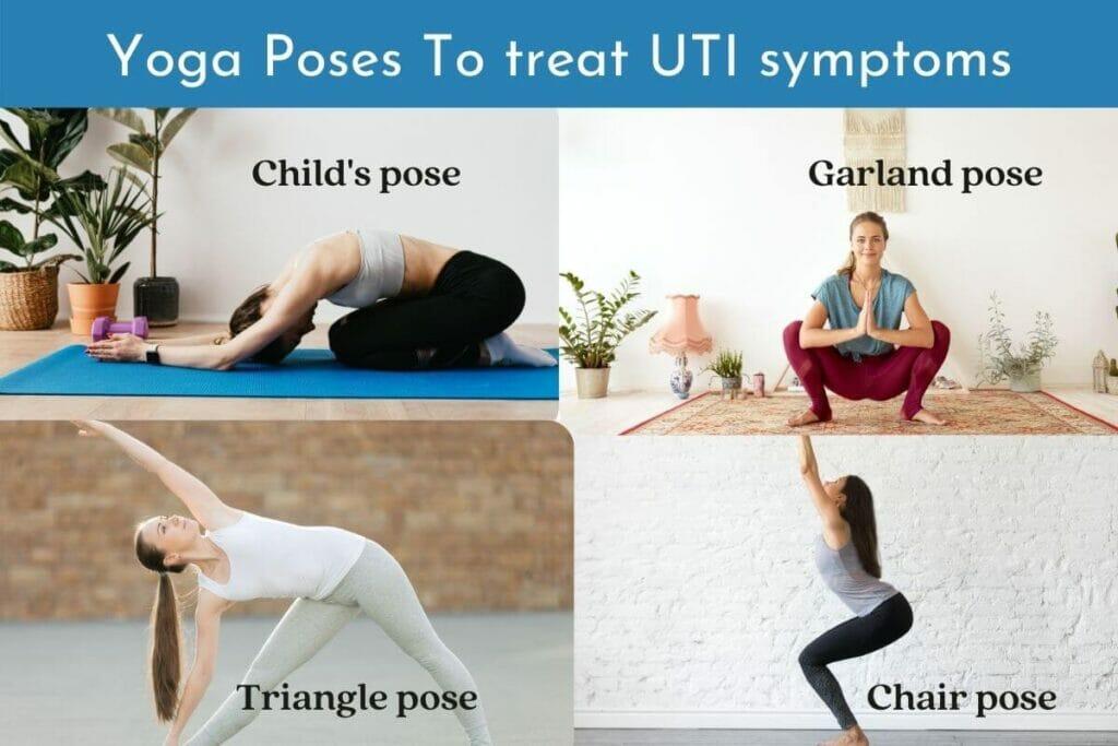 UTI home remedy - Yoga poses to treat UTI symptoms