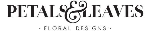 Petals & Leaves Logo