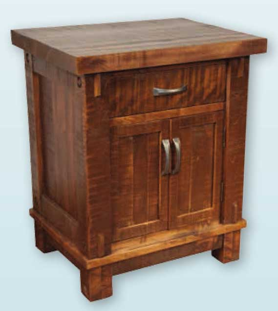 Schlabach Timbers Timber night stand