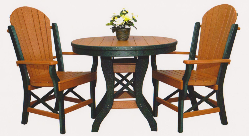"byler outdoor furniture 36"" round table"