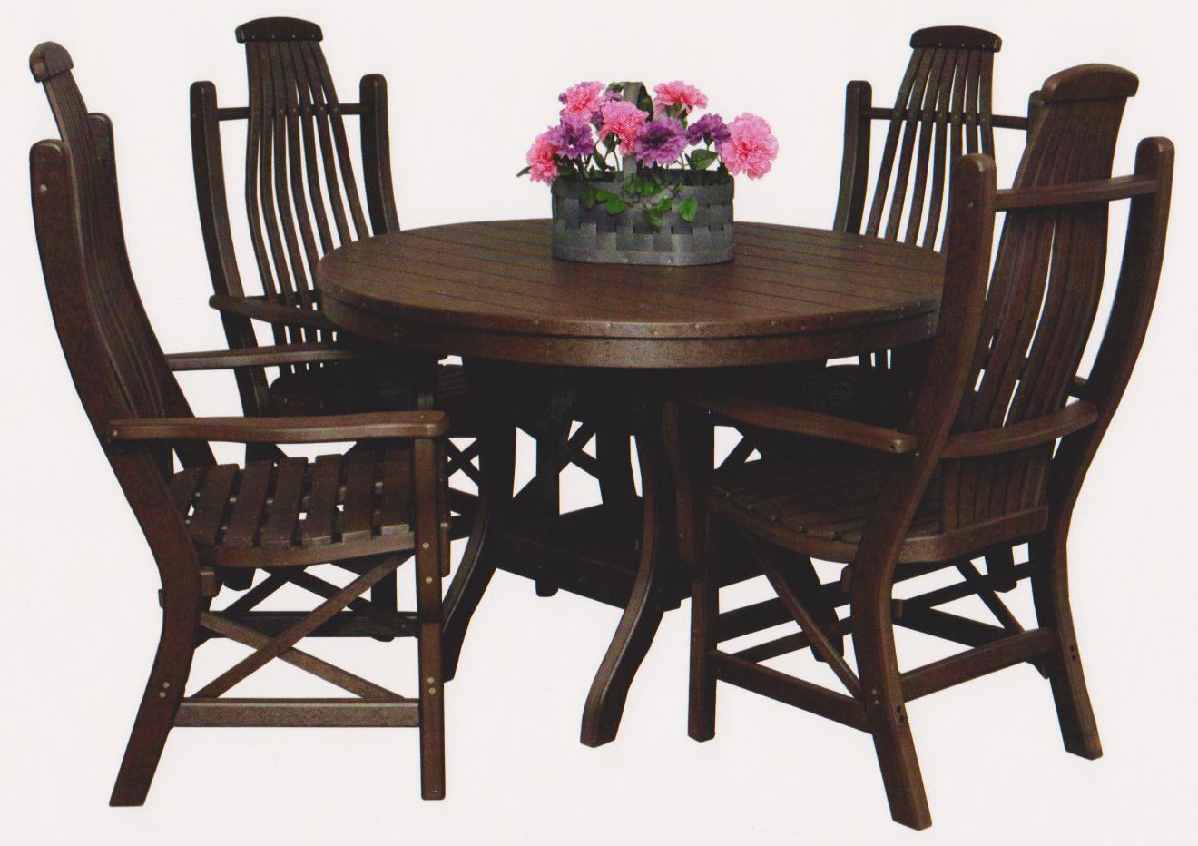 Bylers Patio 44 Round Table