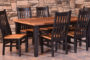 Almanzo Table with Black Tapered Leg