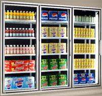Anthony Doors Model 401 Economy Series Display Doors