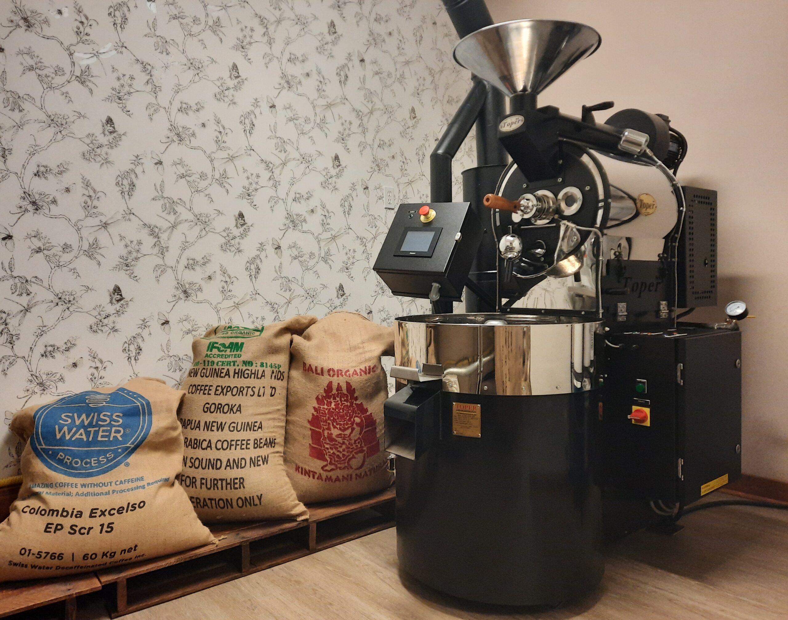 Alberta Coffee Bean Roasting Machine