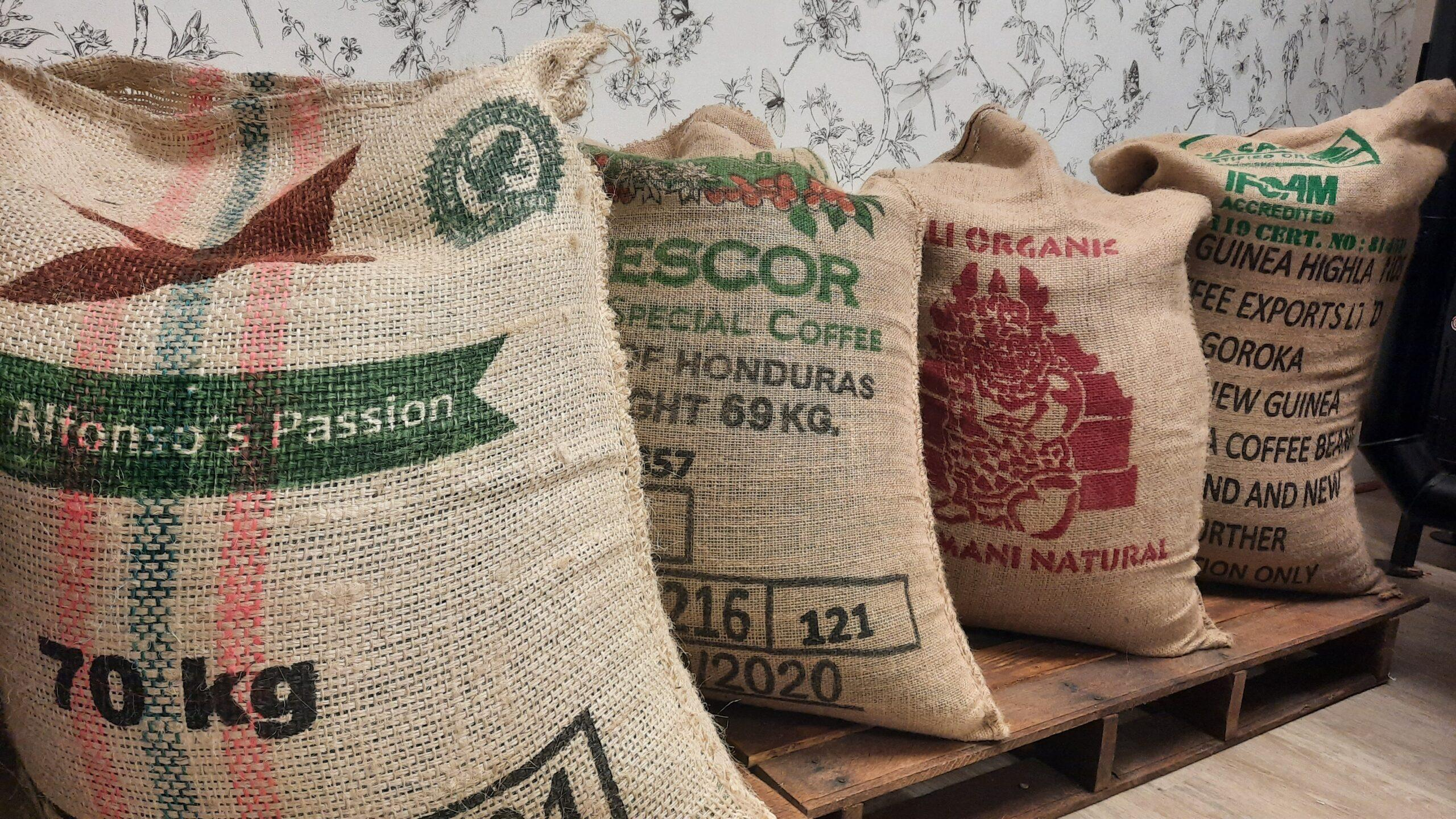 Bags of Coffee Beans for wholesale
