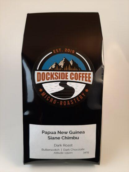 Papa New Guinea Dark Roasted beans