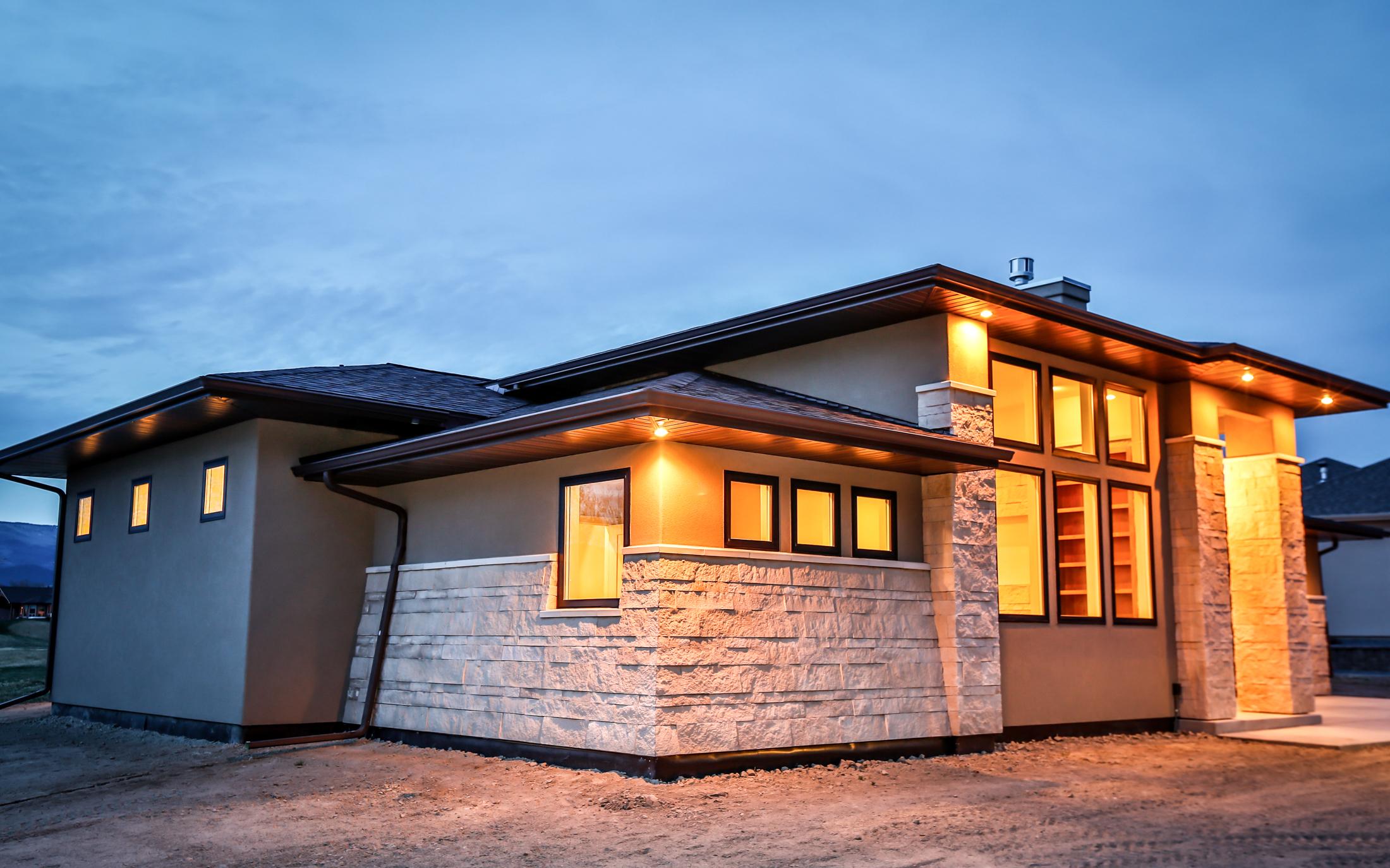 Modern Prairie Home