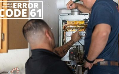 Rinnai Tankless Water Heater Error Codes: How to Troubleshoot Error Code 61