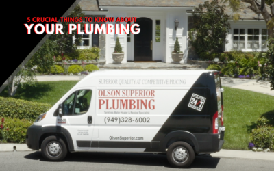 5 Crucial Things To Know About Your Home Plumbing
