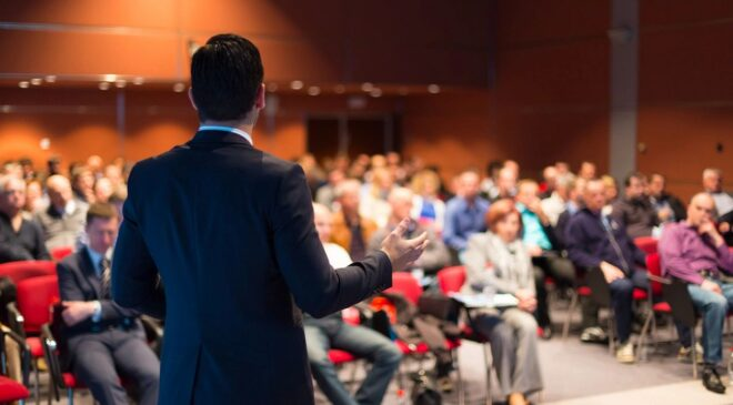 Ask The Lawyer By: Daniel A. Gwinn, Esq, Can Fear of Public Speaking Cost Me My Job?