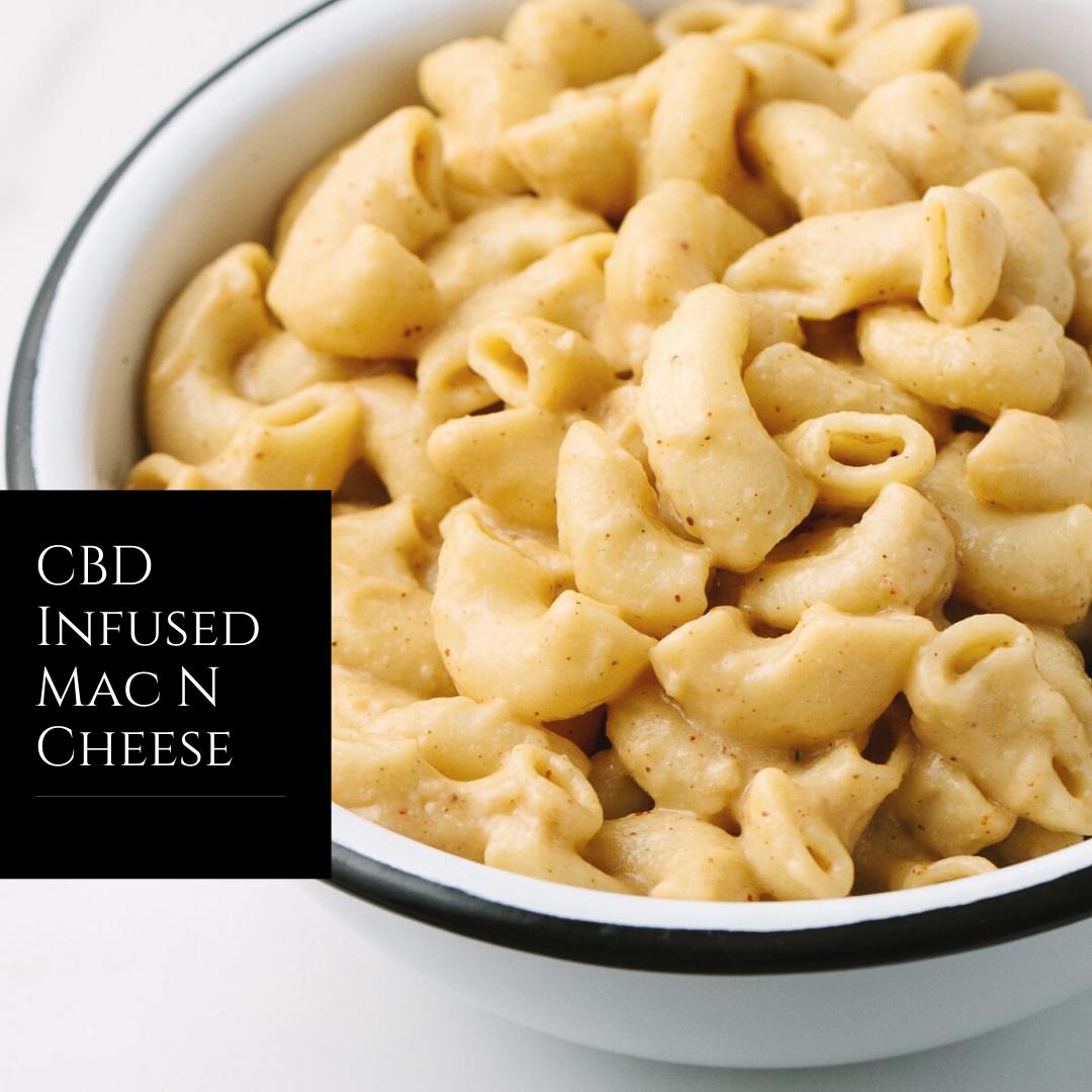 CBD Infused Mac N Cheese