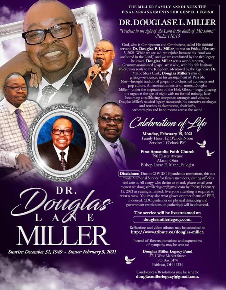 Douglas Miller announcement