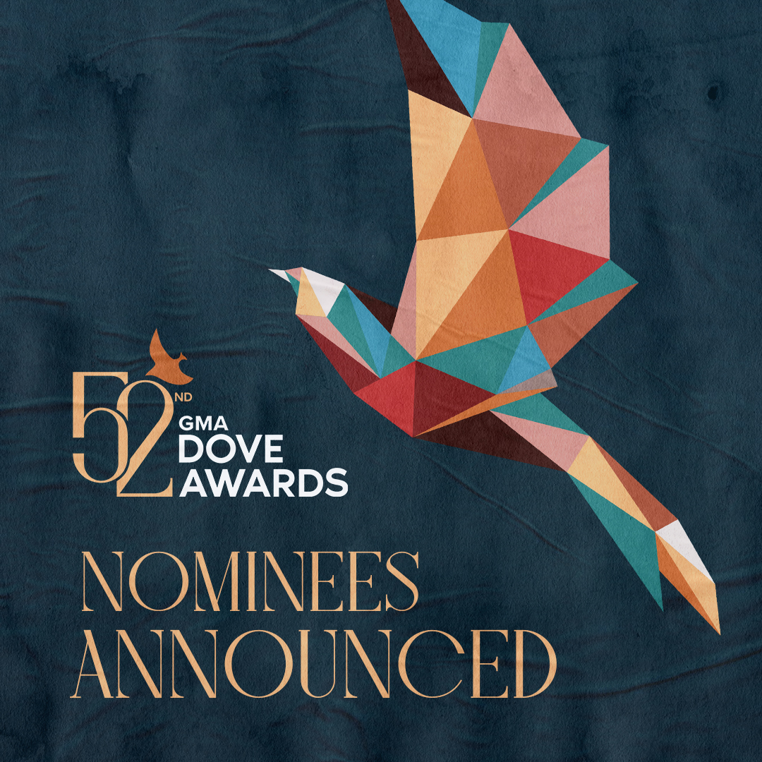 52nd GMA Dove Awards Nominees Announced