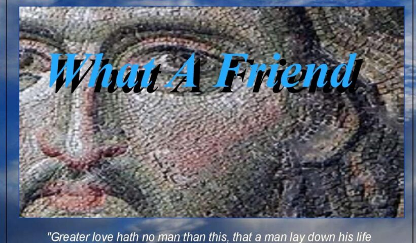 What A Friend cover art