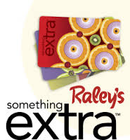 Raley's Something Extra Card to Support the SCSO