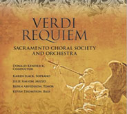 SCSO Verdi CD available at the concert