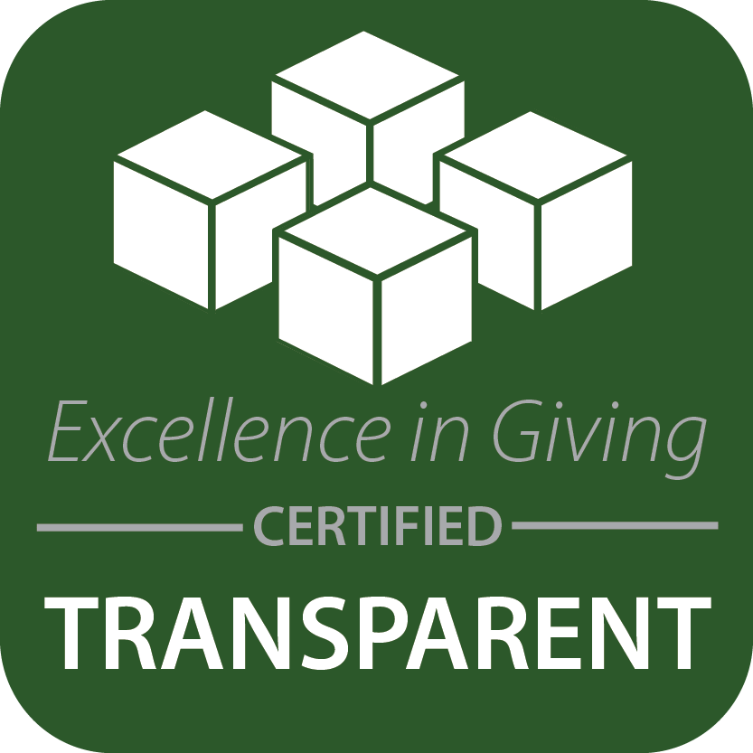 Excellence in Giving Certified Transparency