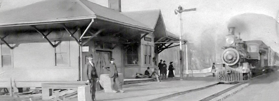Valley City Station, Circa 1895
