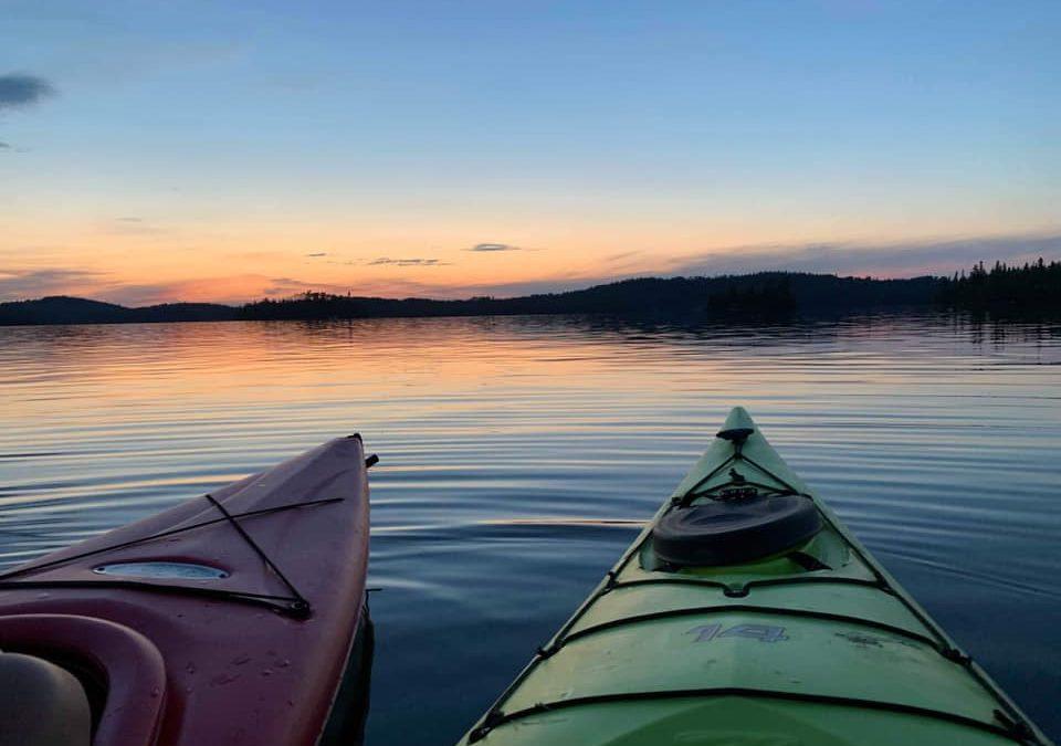 En kayak comme dans la vie