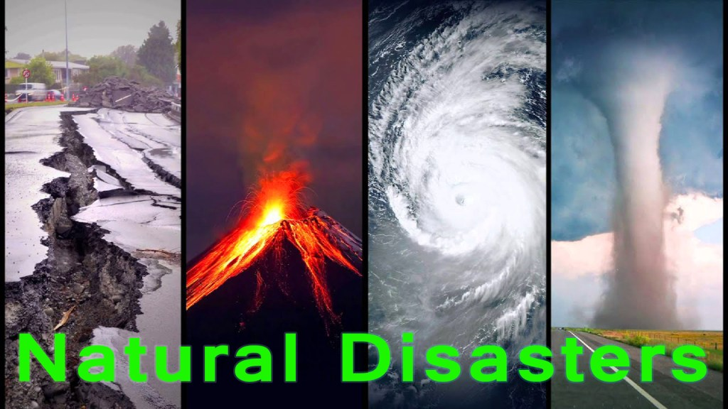 Natural disasters that show the gravity of Global Warming