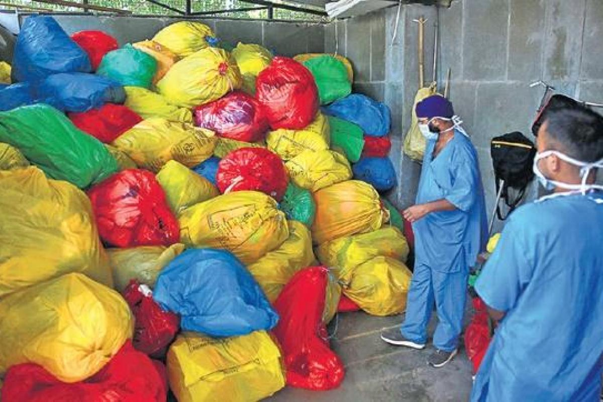 Biomedical waste in the times of Coronavirus.