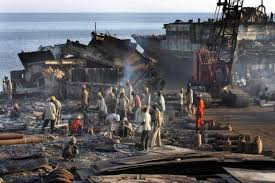 Safe and sustainable way of dismantling old ships in India?
