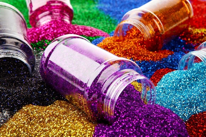 How glitter could be damaging Rivers