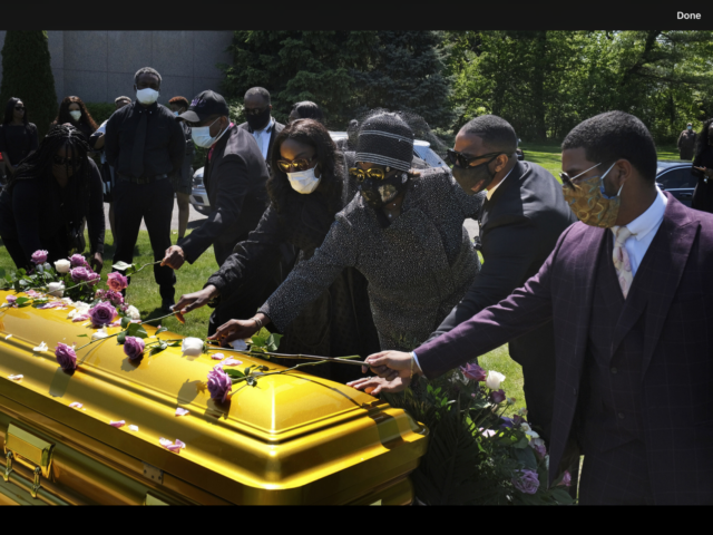 Bishop Carl Williams Burial